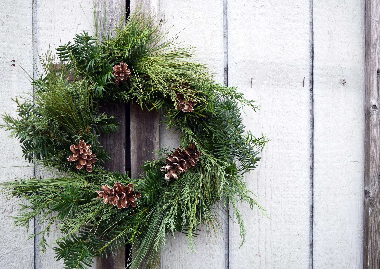 Sold Out Wreath Making Workshop Queens Botanical Garden