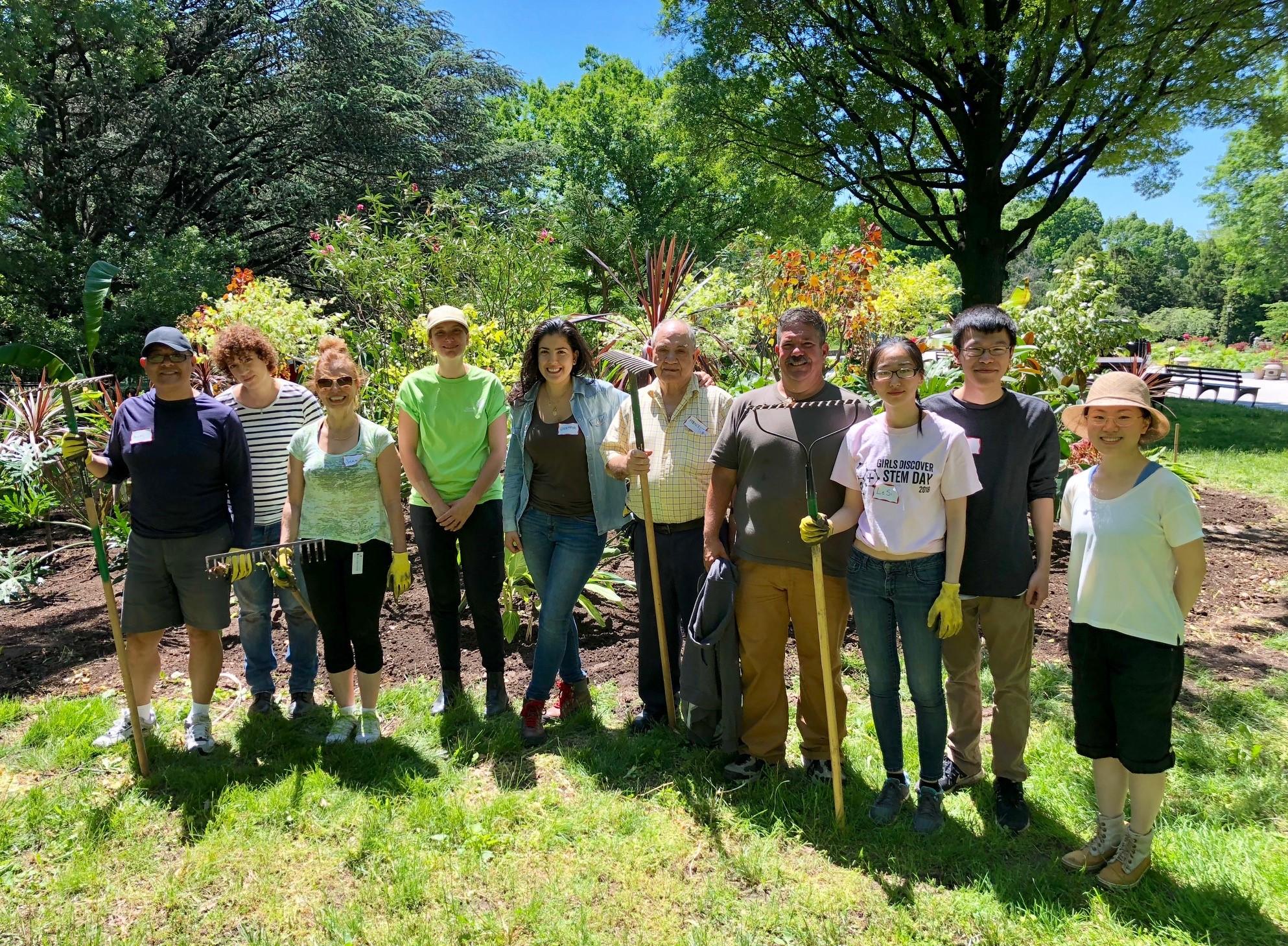 Horticulture Volunteer Day - Queens Botanical Garden