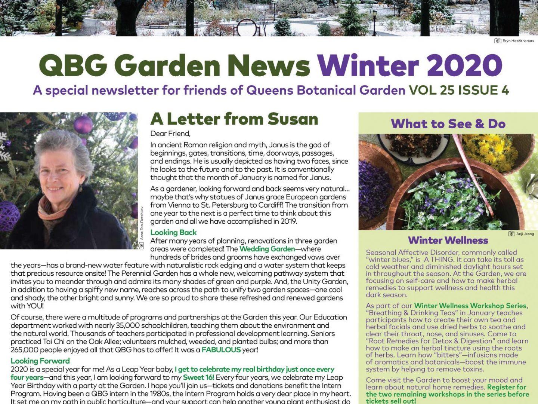 Garden News Member Newsletter